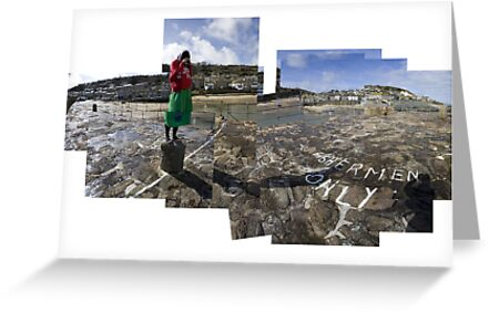 Photographing Mousehole with a Diana Camera by Adam Costello