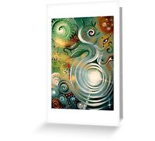 Origins of Life - Sacred Geometry Greeting Card