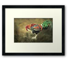 """""""Oh Lordy, It's Enough to Scramble my Brain !!!"""" Framed Print"""