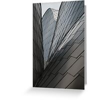 Peter B Lewis Building, Cleveland, Ohio. Greeting Card