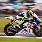 Valentino Rossi - Turn Three Phillip Island 2008 by AdamReece