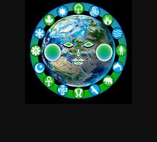 Earth - by Nelson Pawlak © 2015 Unisex T-Shirt