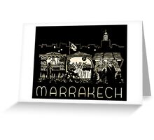 Marrakech Greeting Card