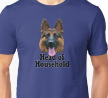 German Shepard: Head of Household Unisex T-Shirt