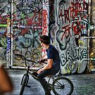 BMX Biker profile by Guy Carpenter