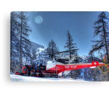 The Air Ambulance (HDR) Canvas Print