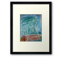 Lifeless Land Framed Print