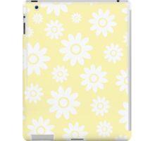 Cream Fun daisy style flower pattern iPad Case/Skin