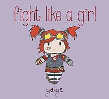 Fight Like a Girl | Gaige - Borderlands 2 by isasaldanha
