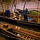Fisherman being... by Kornrawiee