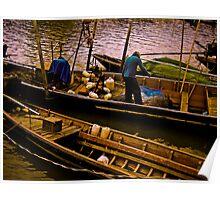 Fisherman being... Poster