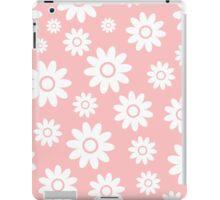 Light Pink Fun daisy style flower pattern iPad Case/Skin