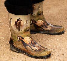 Horse Boots by Renee D. Miranda