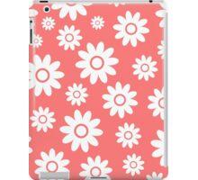 Pink Fun daisy style flower pattern iPad Case/Skin