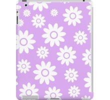 Lilac Fun daisy style flower pattern iPad Case/Skin