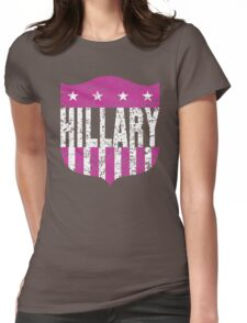 hillary clinton stars and stripes Womens Fitted T-Shirt