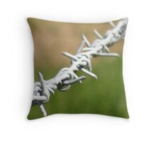 Barbed #2 Throw Pillow