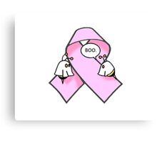 Pink Ribbon BooBees! Canvas Print