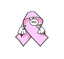 Pink Ribbon BooBees! Photographic Print