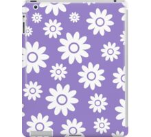 Lavander Fun daisy style flower pattern iPad Case/Skin