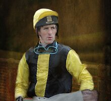 Portrait of a Jockey  by Catherine Hamilton-Veal  ©