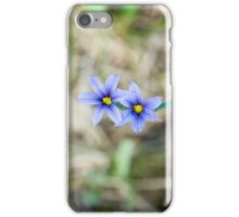 purple wildflower iPhone Case/Skin