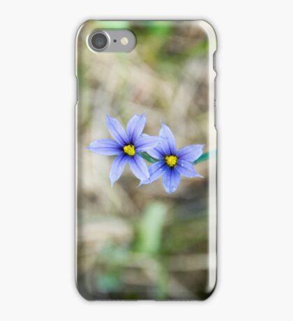 purple wildflower iPhone Case/Skin