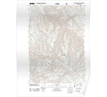 USGS Topo Map Oregon Little Beaver Creek 20110727 TM Poster