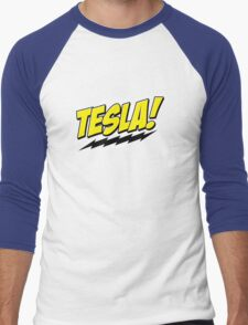 Tesla! Men's Baseball ¾ T-Shirt