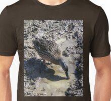 Duck in mud Unisex T-Shirt