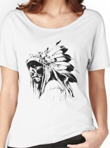 indian apache Women's Relaxed Fit T-Shirt