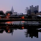 Rochester castle by Doug McRae