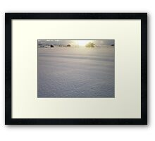 December Days - Aberdeenshire Framed Print