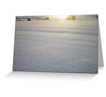 December Days - Aberdeenshire Greeting Card