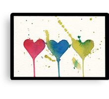 """tant d'amour"" - So much Love Canvas Print"