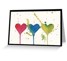 """""""tant d'amour"""" - So much Love Greeting Card"""