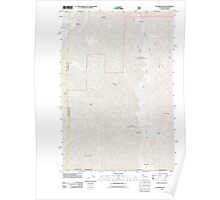 USGS Topo Map Washington Deadman Peak 20110914 TM Poster