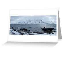 Ezcurra Inlet Greeting Card