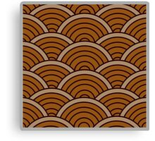 Brown Wave Canvas Print