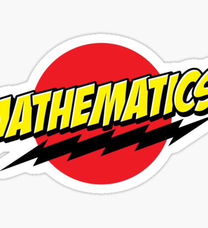 Mathematics! Sticker Sticker