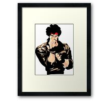 Ready For A Fight Framed Print