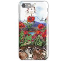 Tuffo nei Papaveri iPhone Case/Skin