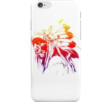 indian apache colored iPhone Case/Skin