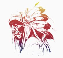 indian apache colored by hottehue