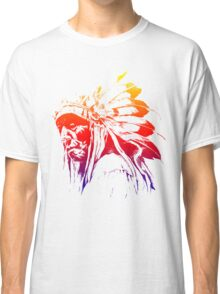 indian apache colored Classic T-Shirt