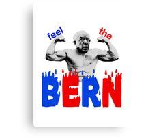 Feel the Bern Canvas Print