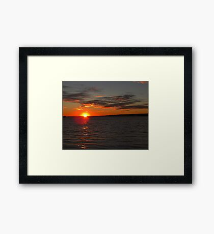 Nighty Night Framed Print