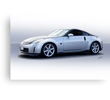 2008 Nissan Z350 Sports Coupe Canvas Print