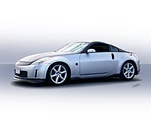 2008 Nissan Z350 Sports Coupe Photographic Print