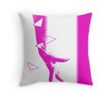 Change One - Female hand Throw Pillow